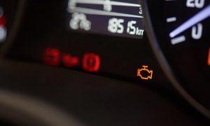 چراغ چک موتور خودرو