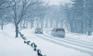 How to drive with a rental car in the snow