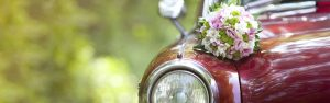 Rent a car for a wedding