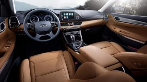 inside of hyundai azera 2019
