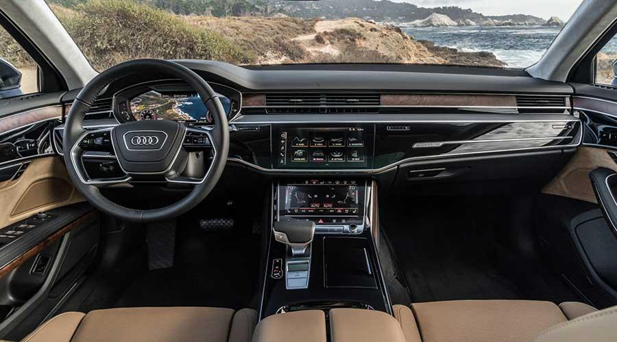 Audi A8 interior design