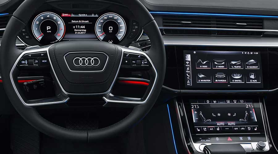 Possibilities Audi A8 2019