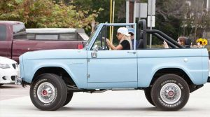 lady Gaga Car